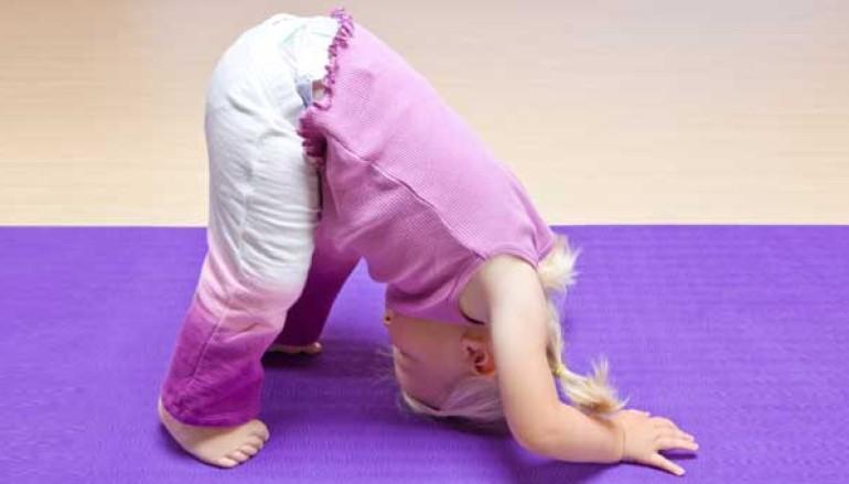 Yoga per bambini piccoli a Roma Nord al Centro Euclide