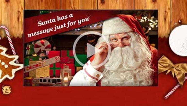 Un messaggio per il tuo Bambino direttamente da Babbo Natale