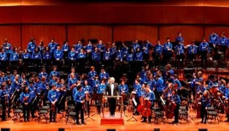 La musica diventa solidale con il concerto della JuniOrchestra all'Auditorium