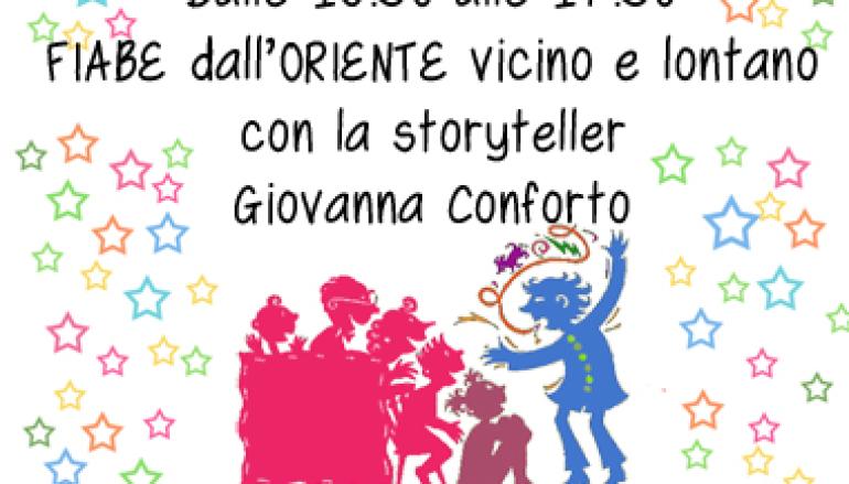 Letture di favole per i bambini da  la Bottega del Mondo Equociquà!