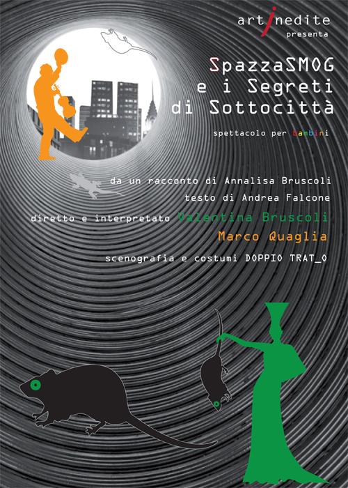 Spettacolo Spazzasmog Teatro Arcobaleno