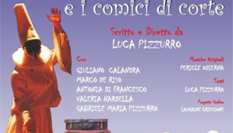 Teatro del Torrino spettacolo per bambini Pulcinella e i comici di corte