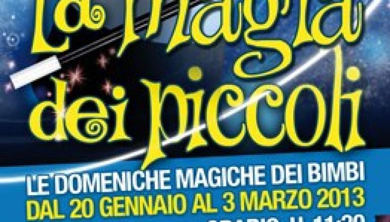 La magia dei Piccoli al Teatro Alba spettacolo per bambini a Tuscolana
