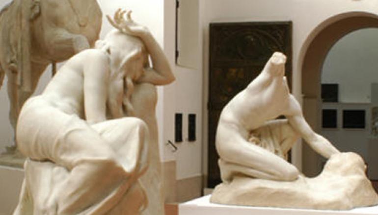 Con i bambini al Museo Pietro Canonica a vedere come si fanno le sculture