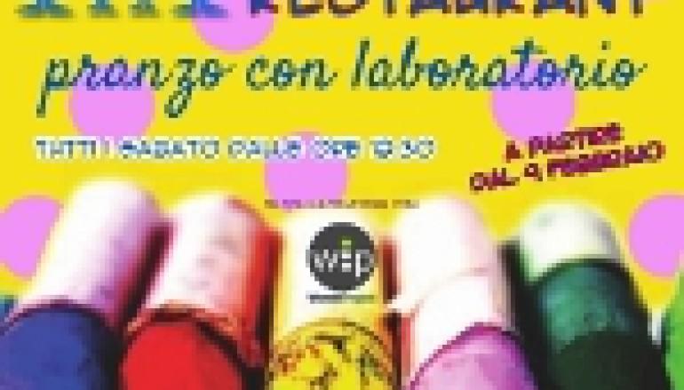 Pranzo e laboratorio per bambini a Testaccio al ristorante Rec23