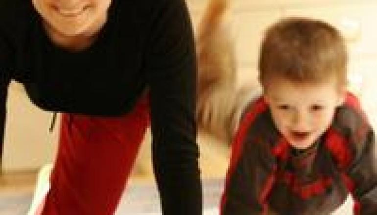 Pilates per mamme e bambini il sabato a Villa Pamphili