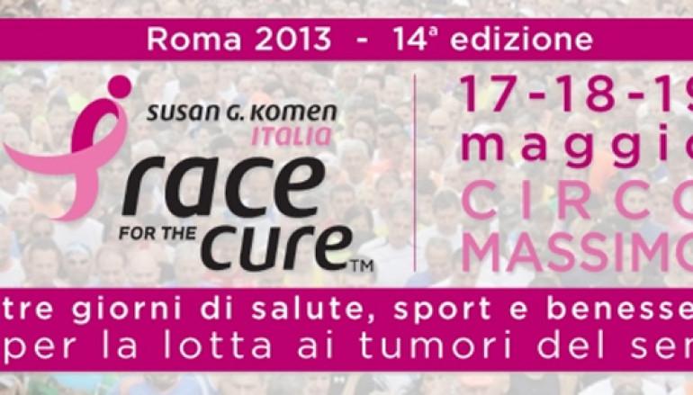 Race for the Cure dal 17 al 19 maggio al Circo Massimo