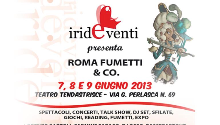 Roma Fumetti & Co al Teatro Tendastrisce evento per bambini e famiglie