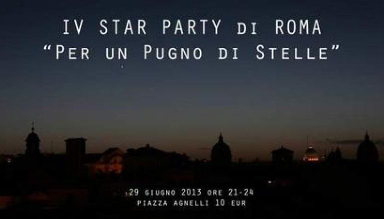 Festa delle stelle al Planetario sabato 29 giugno