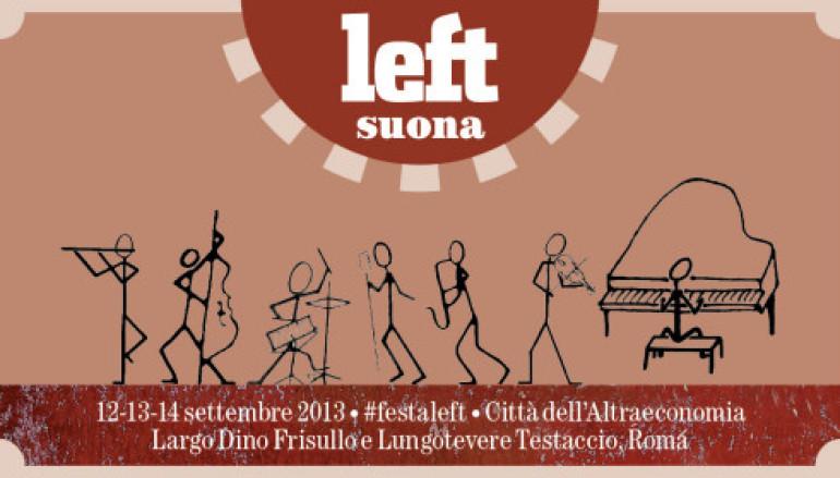 Alla Città dell'Altra Economia a Testaccio la Festa di Left