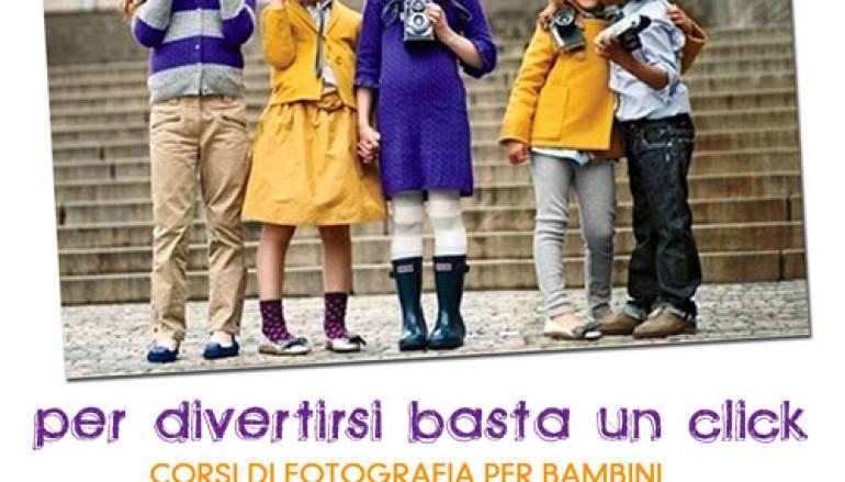Laboratorio di fotografia per bambini a Roma