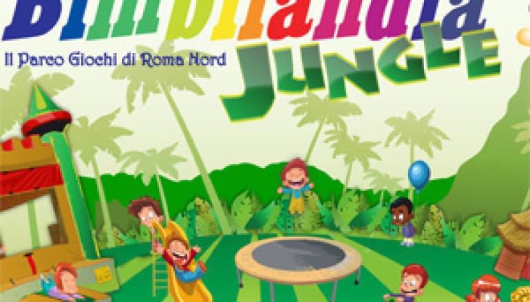 Bimbilandia Jungle il Parco giochi in Viale di Tor di Quinto