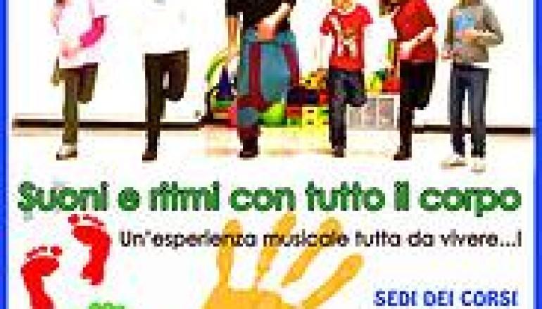 Corso di Body Percussion per bambini a Roma