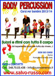 body-percussion-bambini a roma