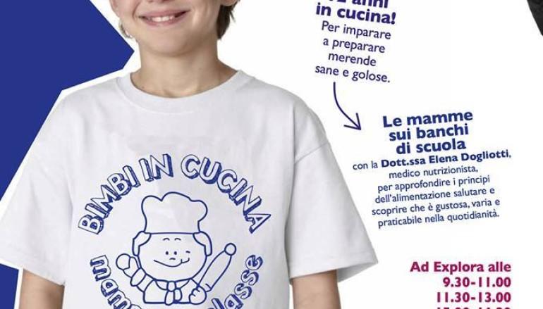 Mini Corso di Cucina per bambini da Explora