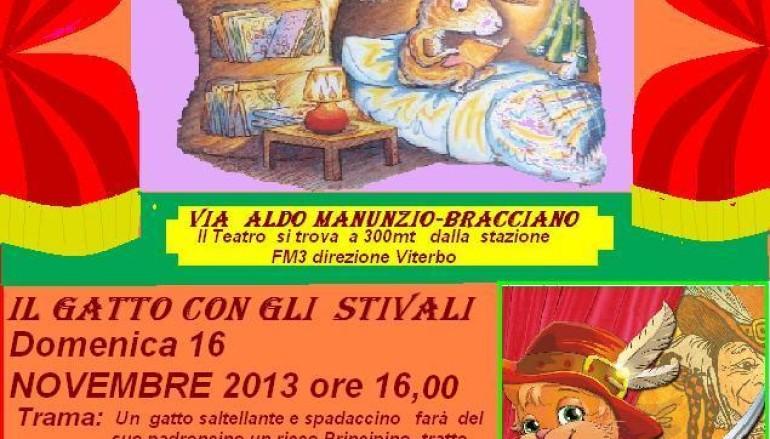 Teatro dei burattini a Bracciano