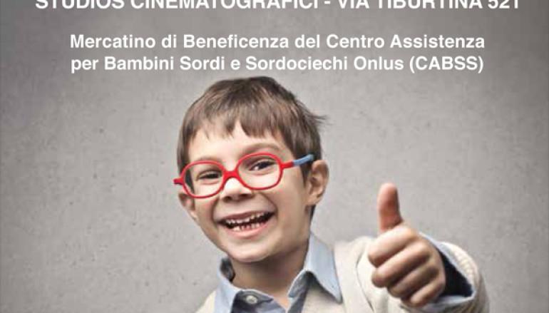 Mercatino di beneficenza a favore del Centro Assist. per Bambini Sordi e Sordociechi