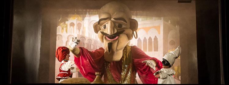 Aladino al Teatro san Carlino