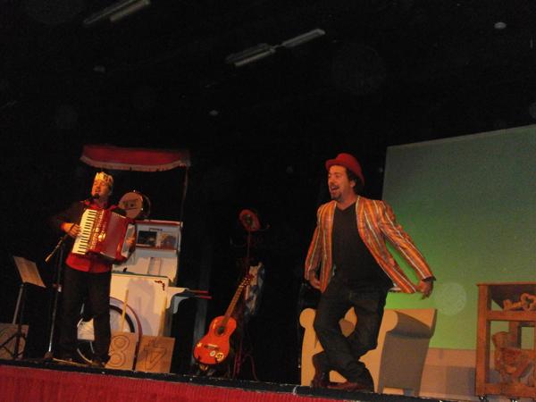 le musicastrocche al teatro verde