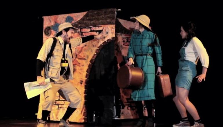Il villaggio oltre il fiume lo spettacolo per bambini al teatro Furio Camillo