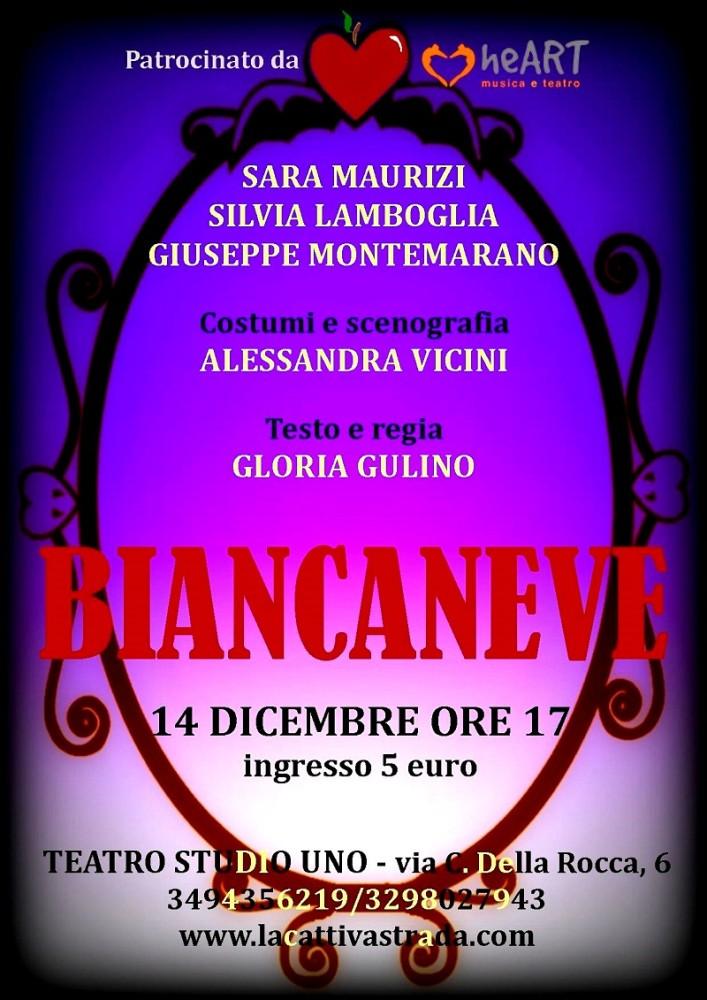 Biancaneve Teatro Studio Uno
