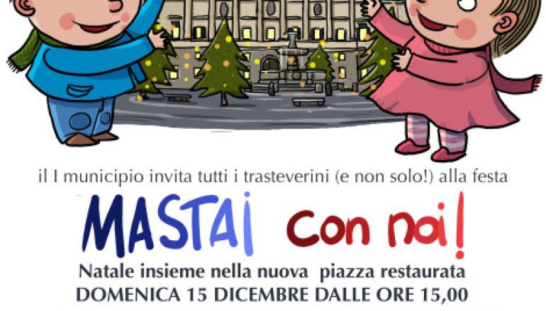 Festa a Piazza Mastai a Trastevere con tante attività per bambini