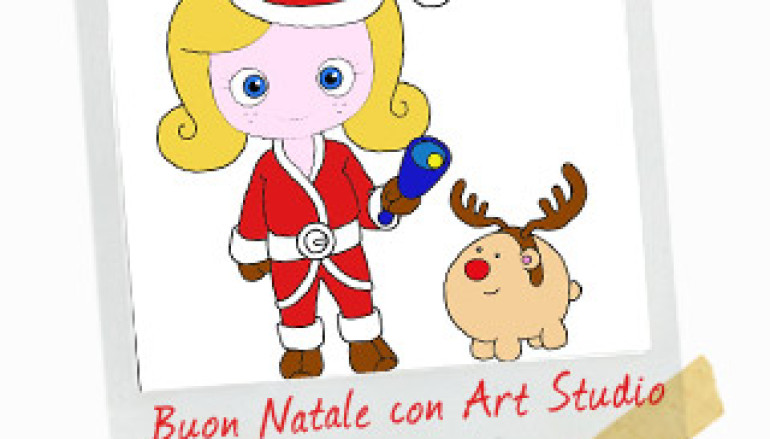 I laboratori natalizi per bambini a Prati di Art Studio Cafè