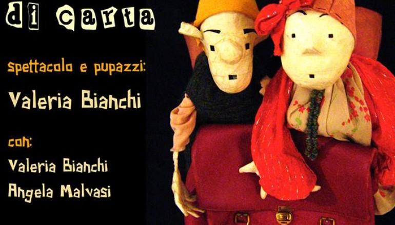 Nonso e Nonsa Pupazzi di carta spettacolo per bambini