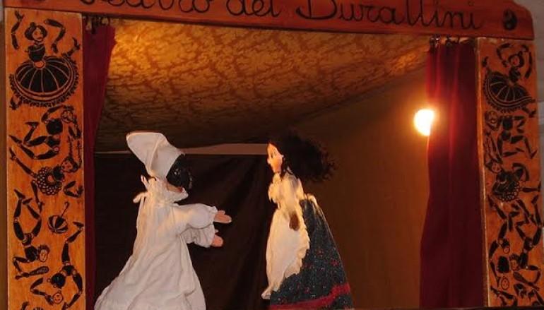 Pulcinella e il rapimento di Teresina al Teatro  a Centrale Preneste