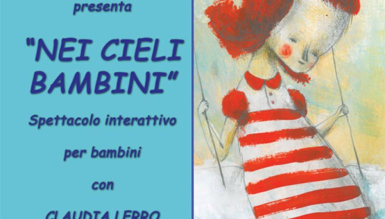 Nei cieli bambini spettacolo per ragazzi al Teatro Furio Camillo