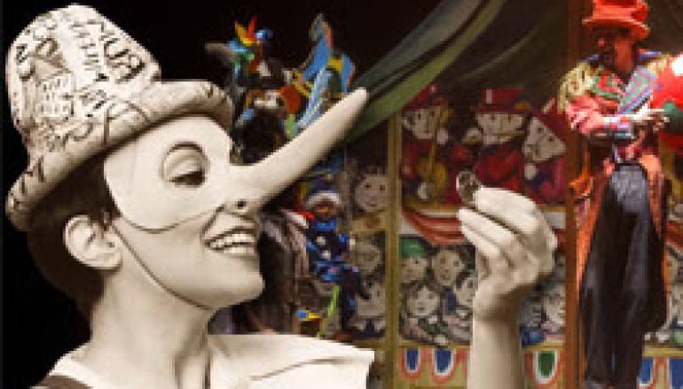Spettacolo per bambini E Poi…Pinocchio al Teatro Eliseo