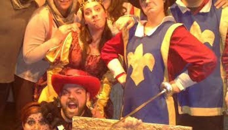 Al Teatro Vascello La Vera Storia (o quasi) dei tre moschettieri