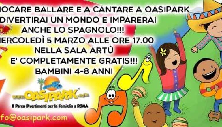 Mini corso di spagnolo gratuito per bambini da 4 a 8 anni da Oasi Park