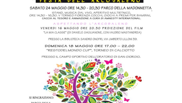 Festa dell'Arcobaleno – Io non ho paura dei colori a Ostia con Amnesty International