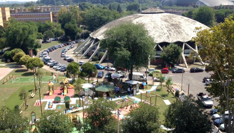 Preferenza Parco giochi per bimbi da 0 a 6 anni Primo Sport 0246 a Roma UQ46