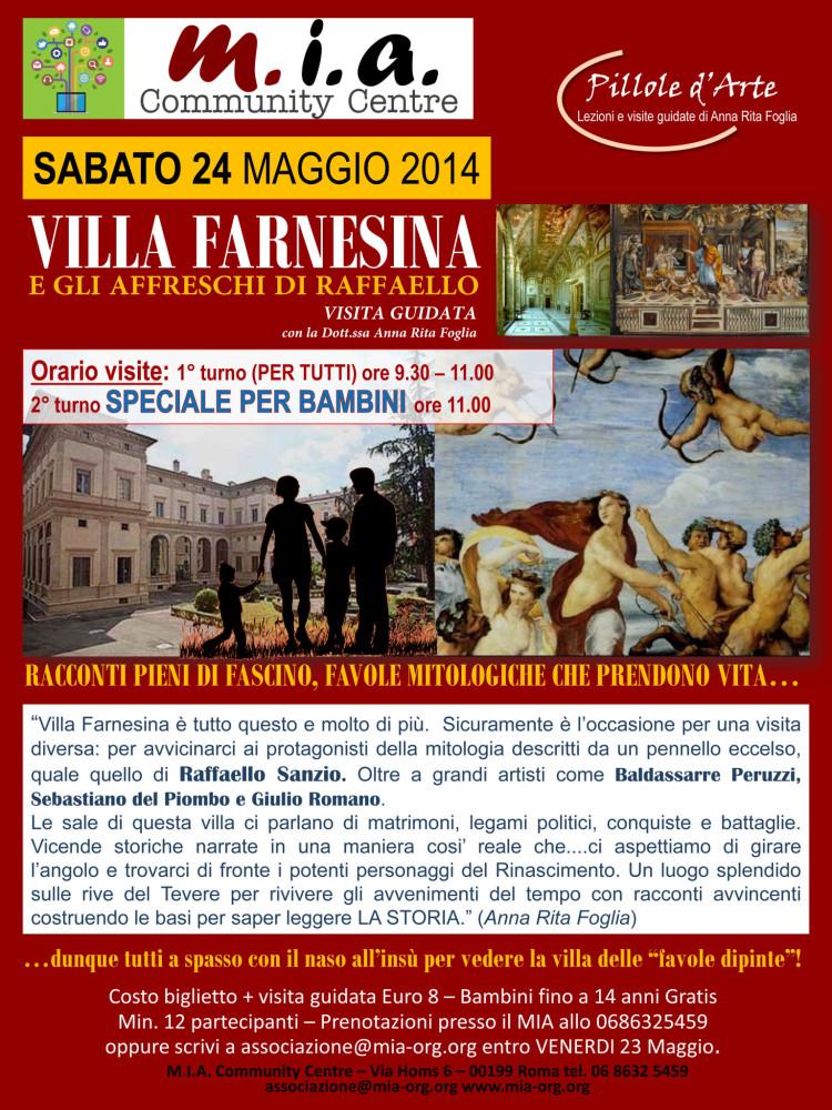 visita-guidata-Villa-Farnesina-24-Maggio-2014