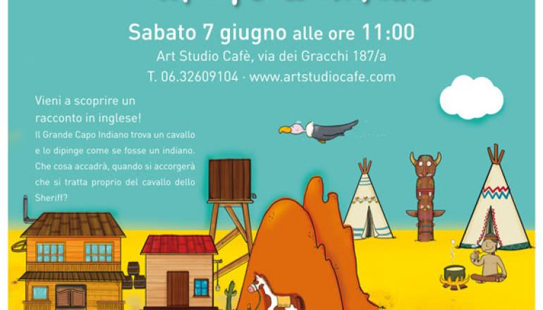 Spettacolo-gioco in inglese gratuito da Art Studio cafè