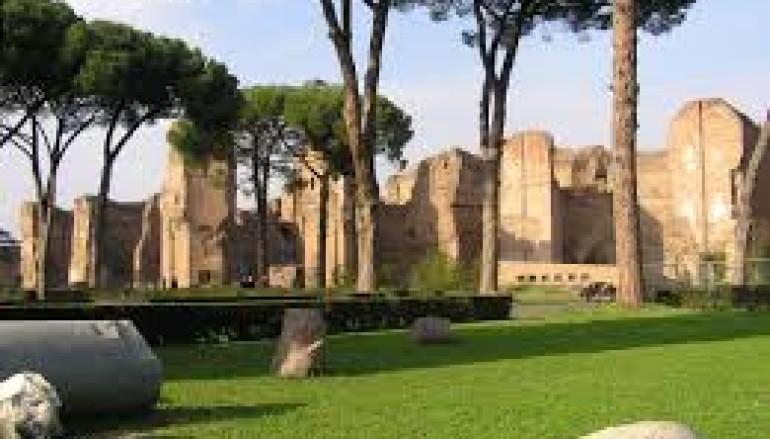 Visita alle Terme di Caracalla per bambini