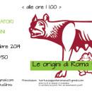 Le origini di Roma tra mito e storia all'Hortus Urbis