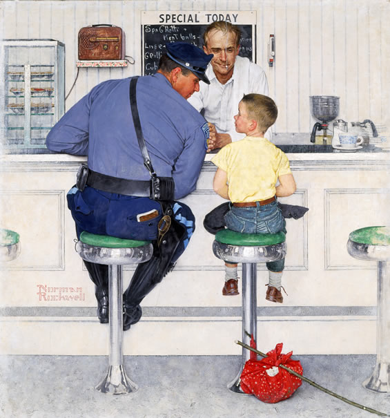 NORMAN ROCKWELL-ROMA