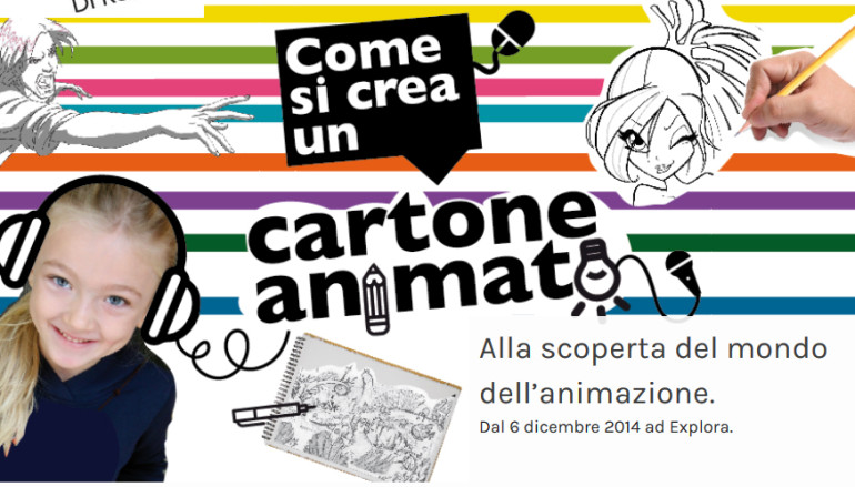 Cartoon Lab come si fa un cartone animato da Explora