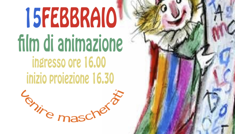 Cinebimbi Carnevale al Detour a Monti