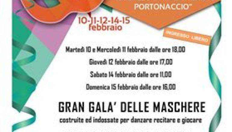 Carnevale alla biblioteca Gabriella Ferri