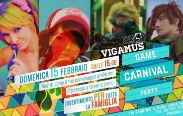 Carnevale al Museo del Videogioco Vigamus