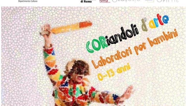 Coriandoli D'arte carnevale per bambini a Villa Pamphili