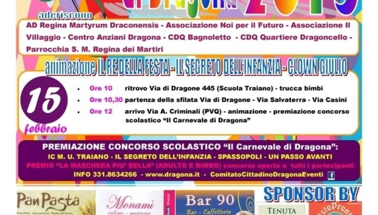 """""""Il carnevale di Dragona"""" – 15 febbraio 2015"""