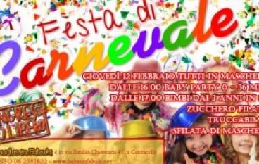 Festa di Carnevale a Ludus in Fabula a Centocelle