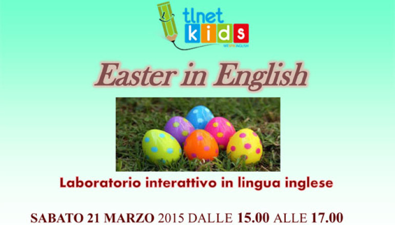 TLNet Kids speciale Easter in English