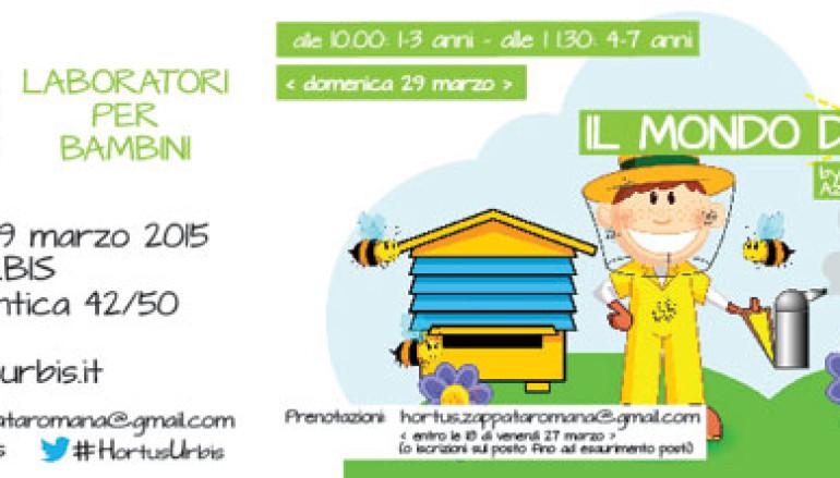 Laboratori all'aria aperta per bambini al Parco dell'Appia