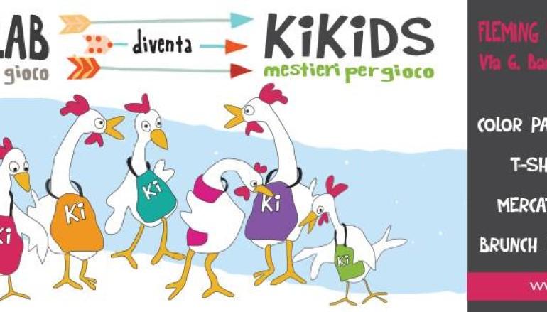Grande festa per Kikilo Lab che diventa KiKids